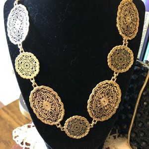 Jewelry - Gold Filigree Necklace